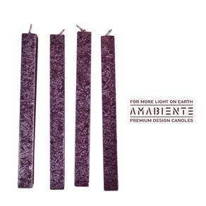 Amabiente-Clasica-Corta-Set-X-4-Velas-Burgundy