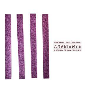 Amabiente-Clasica-Corta-Set-X-4-Velas-Purple