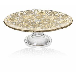 IVV-Arabesque-Porta-Torta-con-Pie-Gold-leaf-decora