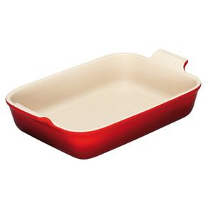 Le-Creuset-Molde-rectangular-Rojo