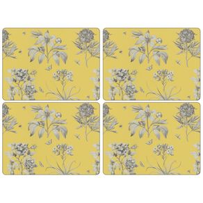 Portmeirion-Etchings-and-Roses-Set-X-4-Individuales-rectanguares