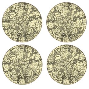 Portmeirion-Damask-Gold-Set-X-4-Individuales-redondos