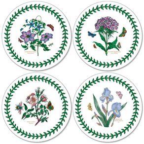 Portmeirion-Botanic-Garden-Set-X-4-Portavasos-redondos