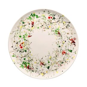 Rosenthal-Bone-China-Brillance-Fleurs-Sauvages-Coupe-Plato-Base