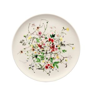 Rosenthal-Bone-China-Brillance-Fleurs-Sauvages-Coupe-Plato-Pan