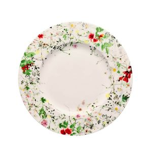 Rosenthal-Bone-China-Brillance-Fleurs-Sauvages-Plato-postre-