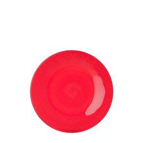 Rosenthal-Hutschenreuther--Plato-Postre-Rojo