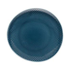 Rosenthal-Junto-Plato-postre-Ocean-Blue
