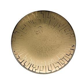 Rosenthal-Studio-Line-Tac-Skin-Gold-Plato-Pan