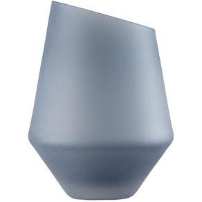 Zwiesel-1872-Schott-Diamonds-Florero-Azul-satinado