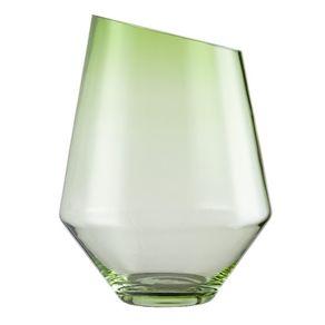 Zwiesel-1872-Schott-Diamonds-Florero-verde