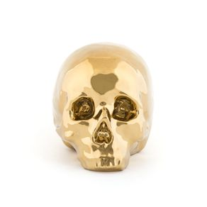 Seletti-Memorabilia-Skull--Calavera--Dorada