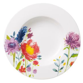 Villeroy---Boch-Classic-Anmut-Flowers-Plato-hondo