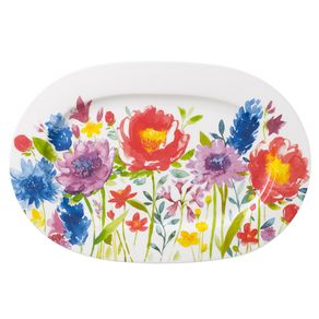 Villeroy---Boch-Classic-Anmut-Flowers-Bandeja-Oval