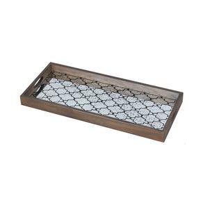 Notre-Monde-Bronze-Gate-Espejo-rectangular-Grande