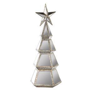 Goodwill_Navidad_Arbol_Espejos_estrella_Plateado