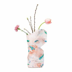 Tiny-Miracles-Florero-Papel-Pink-Fish