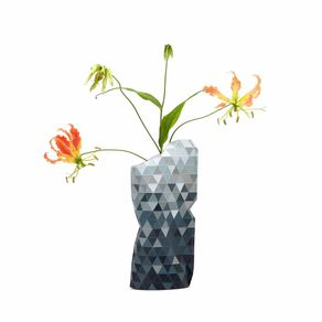 Tiny-Miracles-Florero-Papel-Grey-Gradient-Small
