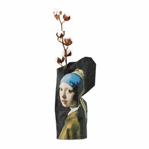 Tiny-Miracles-Florero-Papel-Girl-W-Pearl-Earring