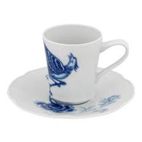 Vista_Alegre_Blue_Bird_Plato_-_Taza_Cafe