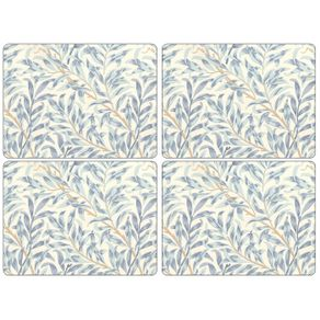 Portmeirion_Willow_Bough_Blue_Set_X_4_Individuales_Rectangulares