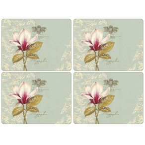 Portmeirion-Vintage-Tolle-X-4-Individuales-Rectangulares