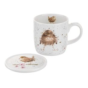 Portmeirion-Wrendale-Desing-Mug-y-Portavasos-Flying-Nest