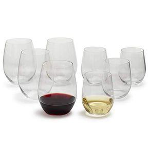 Riedel-The--O--Wine-Tumbler-Set-X-8-Vasos-Dos-Tamaños