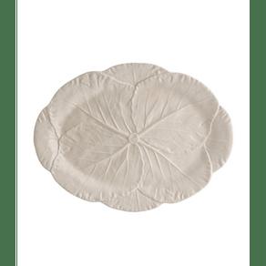 Bordallo-Pinheiro-Cabbage--Fuente-Ovalada-43-cm