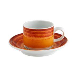 Vista-Alegre-Mandarin-Taza-Cafe-3-Oz-Y-Plato-Naranja