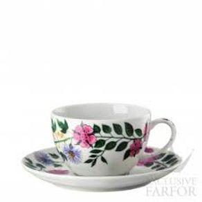 Rosenthal-Magic-Garden-Blossom-Taza-Plato-Te