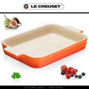 Le-Creuset-Molde-Rectangular-32-cm-Cereza
