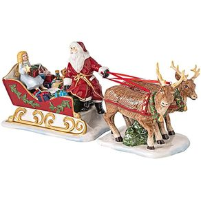 Villeroy-Boch-Christmas-Toys-Trineo-Con-Renos-Y-Regalos--36-X-14-X-17-Cm