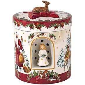 Villeroy-Boch-Christmas-Toys-Caja-Regalo-Redonda-17-X-17-Cm-X-21-Cm