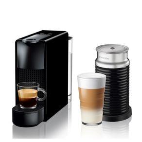 Nespresso-Essenza-Mini-Negra---Espumador-de-leche-Maquina-de-cafe