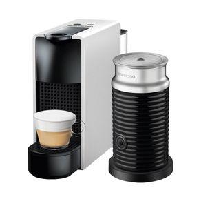 Nespresso-Essenza-Mini-Silver---Espumador-de-leche-Maquina-de-cafe