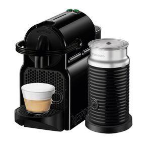 Nespresso-Inissia-Negra---Espumador-de-Leche-Maquina-de-cafe