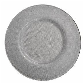 Ivv-Kerala-Plato-De-Sitio-Silver-Glitter-34-Cm