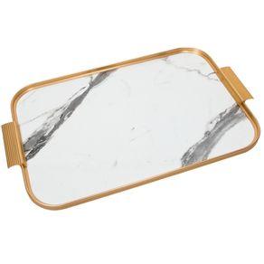 Kaymet-Bandeja-46-X-30-Cm-White-Marble-Gold