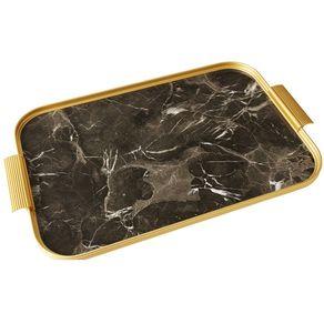 Kaymet-Bandeja-35-X-26-Cm-Brown-Marble-Gold