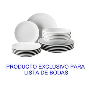 Rosenthal-Mesh-Blanco-Estuche-Vajilla-Set-x-18-pcs