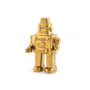 Seletti-Mi-Robot-Memorabilia-Dorado-30-Cm